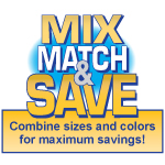 Mix Match & Save
