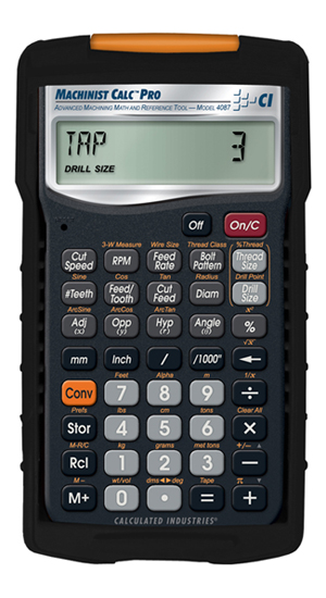 Calculated Industries Machinist Calc Pro Calculator (4087)