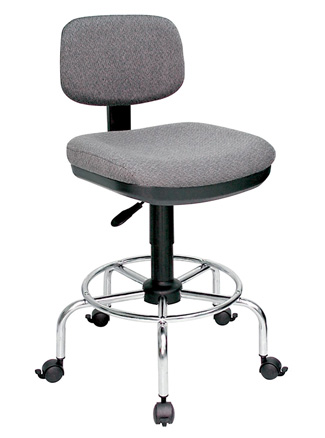 Alvin American-Style Draftsman's Chair - Charcoal (DC778-34)
