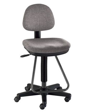 Alvin Viceroy Artist/Drafting Chair - Medium Gray (DC999-60)