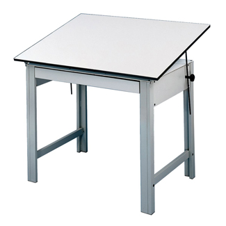 "Alvin DesignMaster Table 37.5"" x 60"" w/Gray Base (DM60ND)"