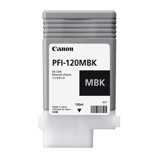 Canon PFI-120MBK Pigment Matte Black 130ml Ink Cartridge