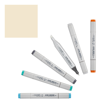 Copic Classic Original Marker Brick Beige (E31-C)