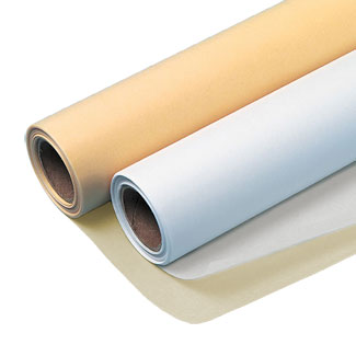 "Seth Cole 8lb 12""x50yds White (55W) Sketch Paper Roll 2"" Core"