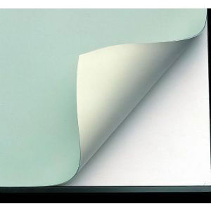 "Alvin VYCO Board Cover Green/Cream 37-1/2""x60"" (VBC44-8)"