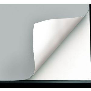 "Alvin VYCO Board Cover Pearl Gray/White 37-1/2""x48"" (VBC77-15)"