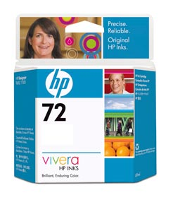 HP 72 Magenta 130ml Ink Cartridge (C9372A)