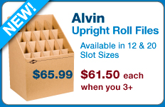 Shop Alvin Upright Roll Files