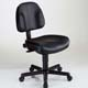 Alvin Premo Ergonomic Office Chair - Black Leather (CH444-90)