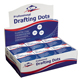 Alvin Drafting Dots Display Box of 12 Rolls (DM123D)