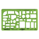 "Alvin Home Furnishings Template 1/4"" Scale (TD1155)"