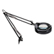 "Alera Full Spectrum Magnifier Swing Arm Lamp 36"" Black (LMPM745B)"