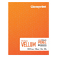 "Clearprint 1000H 16lb Design Vellum Field Sketch Book 8.5""x11"" 50 Sheets (CVB8511P2)"