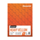 "Clearprint  48lb Heavy Vellum Pad 9""x12"" 25 Sheets (26321511011)"