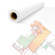 "ARC 24lb Premium Color Bond 42""x150' with 2"" Core 1 Roll (ARCCB42150)"