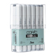 Copic Classic Original 12 Marker Set Cool Gray (CCG12)