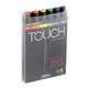 ShinHan Art TOUCH TWIN Main Colors 6 Marker Set (1100613)