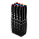 ShinHan Art TOUCH TWIN Main Colors 12 Marker Set (1101213)