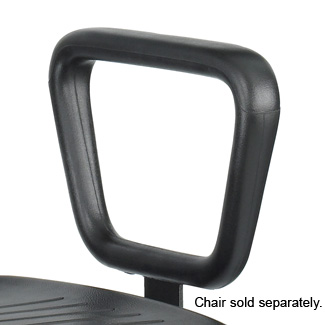 Safco TaskMaster Closed Loop Armrest - Set Black (5143)