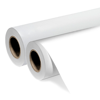 "Oce 45111R 20lb Recycled Engineering Bond 30""x500' Untaped 3"" Core 2 Rolls (45111R0005)"