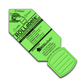 "Rollabels Junior Identification Tags 1.5"" Fluorescent Green 50/pk (JRGN)"
