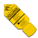 "Rollabels Junior Identification Tags 1.5"" Yellow 50/pk (JRYW)"