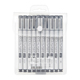 Copic Multiliner SP Refillable Black 10 Pen Set (MLSP10A)