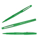 Paper Mate Flair Medium 0.7mm Felt Tip Green Pens 12/Box (8440152)