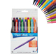 Paper Mate Flair Medium 0.7mm Felt Tip Pens Assorted Colors 16/Pack (70644)