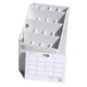 "AOS The SlantFile 16 Slot 26""x16-1/2""x16 1/2"" Roll File (SlantFile-16)"