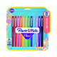 Paper Mate Flair Medium 0.7mm Felt Tip Pens Assorted Colors 12/Pack (74423)