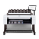 "HP DesignJet T2600DR 36"" PostScript Dual-Roll Multifunction Printer with Scanner TAA Compliant (3EK15BBCB)"