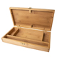 Pacific Arc Salado Artist Solid Bamboo Medium Tool Box with Paint Palette (BTB1256)