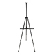 Pacific Arc Backpacker Artist Black Aluminum Field Easel (EF-AL63B)