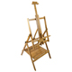 Pacific Arc Pecos Artist Solid Bamboo Pastel/Watercolor Studio Easel (ES-PE46)