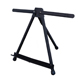 Pacific Arc Rover Artist Black Aluminum Table Top Easel wtih Carry Bag (ET-AL15B)