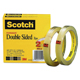 "Scotch Double Sided Tape 1/2""x36yds Roll 2 Pack (665-2P12-36)"