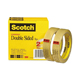 "Scotch Double Sided Tape 3/4""x36yds Roll 2 Pack (665-2P34-36)"