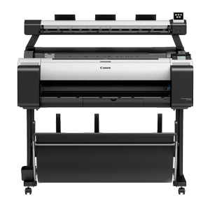 "Canon imagePROGRAF TM-300 MFP 36"" Large Format Printer with L36ei Scanner and Stand (3058C011AA)"