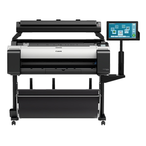 "Canon imagePROGRAF TM-300 MFP 36"" Large Format Printer with T36 Scanner and Stand (3058C010AB)"