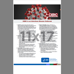 CERC Infectious Disease Outbreak Poster English (CDC7)