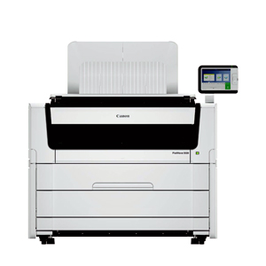"Canon PlotWave 5500 36"" Multifunction 2 Roll Monochrome Printer (4268C001 4269C002 8782B015)"