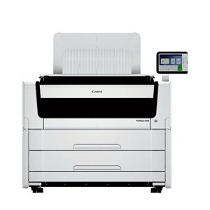 "Canon PlotWave 5500 36"" Multifunction 4 Roll Monochrome Printer (3759V859 4269C002 8782B015)"