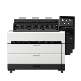 "Canon imagePROGRAF TZ-30000 MFP 36"" Dual-Roll Printer with Z36 Scanner (5517C001AA)"
