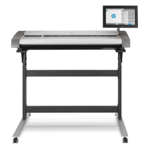 "HP DesignJet HD Pro 2 42"" CCD Scanner and Stand (5EK00AB1K)"